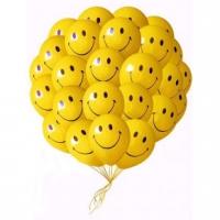 25 смайликов Состав: 25 шариков, наполненных гелием.