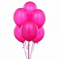 7 розовых шаров Состав: 7 розовых шариков, наполненных гелием.