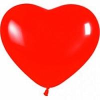 Шарик сердечко Шарик воздушный в форме сердечка, наполненный гелием. Размер: 30 см.