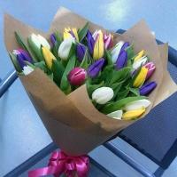 Букет 37 тюльпанов