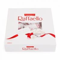Конфеты Raffaello Конфеты Raffaello- это необычайно нежные и вкусные конфеты, состоящие из 2х вафельных половинок, внутри которых находится кокосовый крем и миндальный орешек. Снаружи конфета окутана кокосовыми хлопьями, что делает ее более оригинальной и привлекательной. Кажется, будто эти чудесные конфеты воплотили в себе всю нежность, невероятную легкость и трогательность самого прекрасного, что существует в мире. Они всегда послужат изысканным подарком для тех, кто любит нежные и легкие лакомства. С помощью этого сундучка с конфетами Вы обязательно покорите женское сердце! ;) Вес: 240 гр.