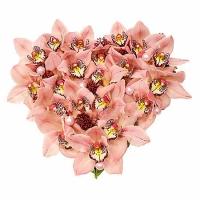 Роксана Состав: орхидея- 21 шт.  По Вашему усмотрению, цветовая гамма, а также цветочный состав композиции может изменяться