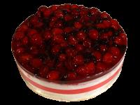 Торт Йогуртовый Йогуртовый торт нежный и легкий. Этот десерт состоит из бисквитного коржа и йогуртовой начинки — клубничной, черничной, малиновой или апельсиновой. Подарите настоящий сладкий праздник имениннику. Вес торта: 1 кг.
