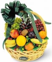 Подарочная корзина № 1 Состав корзины: ананас- 1кг, виноград- 1 кг, апельсин- 1 кг, киви- 4-5 шт, банан- 1 кг, слива ( персик)- 3 шт, яблоко- 1 кг. Ассортимент корзинки и колличество наполнения можно изменить по Вашему усмотрению. Корзинка с огромным колличеством витаминов будет прекрасным подарком на любом празднике.