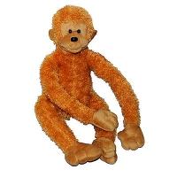 Обезьянка Цяпа Веселая обезьянка развеселит даже в самый хмурый день. Размер: 40 см.