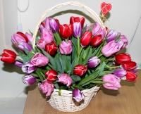 Лукошко тюльпанов