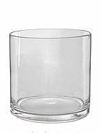 Ваза цилиндрическая 23 х 12 Материал: стекло. Высота: 23 см, диаметр -12 см. ( арт.19025)