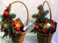 Корзина рождественская