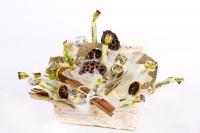 Сундук с пряностями Состав: конфеты Трюфель золото/ белый- 14 шт, конфеты Канафетто- 7 шт Размер: 30 х 20 х 30 см