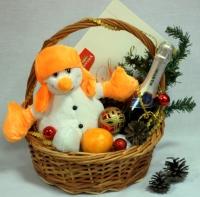 Корзина Счастливого Рождества