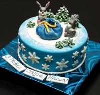 Торт Зайчишки