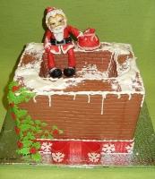 Торт Санта с подарками Вес торта: 3 кг Заказывать торт необходимо за 3- 4 дня до момента доставки! Доставка торта возможна только по Киеву и области. Выберите начинку для торта: ФруктовыйНежный ванильный бисквит, пропитанный сахарным сиропом. Крем из натуральных, взбитых сливок с кусочками фруктов (персик, киви, ананас, груша, вишня, ягоды по сезону). Шоколадно-вишневыйШоколадный бисквит, пропитанный вишневым сиропом (по желанию с коньяком), взбитые сливки с вишней и кусочками шоколада. СметанникШоколадный и ванильный бисквит, сметанный крем (по желанию с добавлением орехов и кусочками шоколада). ЛакомкаТрадиционный белый бисквит, пропитанные карамельным сиропом, нежный крем из взбитых сливок с добавлением сгущенки-ириски с вишней. Птичье молоко Нежный бисквит(ванильный или шоколадный, на выбор), пропитанный ванильным сиропом. Крем— суфле птичье молоко скусочками белого ичерного шоколада. Золотой ключик Ореховый бисквит, пропитанный кофейным сиропом, крем на основе вареной сгущенки с жаренными грецкими орехами. ТрюфельныйШоколадный бисквит с кусочками шоколада, ромовая пропитка, шоколадно трюфельный крем с кусочками шоколада. Медовик Тонкие медовые коржи, сметанный крем, чернослив, курага игрецкий орех. (Можно без сухофруктов или на выбор).
