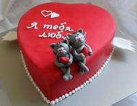 Торт Влюблённые котята