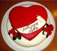 Торт Для любимого Вес торта: 3 кг Заказывать торт необходимо за 3- 4 дня до момента доставки! Выберите начинку для торта: ФруктовыйНежный ванильный бисквит, пропитанный сахарным сиропом. Крем из натуральных, взбитых сливок с кусочками фруктов (персик, киви, ананас, груша, вишня, ягоды по сезону). Шоколадно-вишневыйШоколадный бисквит, пропитанный вишневым сиропом (по желанию с коньяком), взбитые сливки с вишней и кусочками шоколада. СметанникШоколадный и ванильный бисквит, сметанный крем (по желанию с добавлением орехов и кусочками шоколада). ЛакомкаТрадиционный белый бисквит, пропитанные карамельным сиропом, нежный крем из взбитых сливок с добавлением сгущенки-ириски с вишней. Птичье молоко Нежный бисквит(ванильный или шоколадный, на выбор), пропитанный ванильным сиропом. Крем— суфле птичье молоко скусочками белого ичерного шоколада. Золотой ключик Ореховый бисквит, пропитанный кофейным сиропом, крем на основе вареной сгущенки с жаренными грецкими орехами. ТрюфельныйШоколадный бисквит с кусочками шоколада, ромовая пропитка, шоколадно трюфельный крем с кусочками шоколада. Медовик Тонкие медовые коржи, сметанный крем, чернослив, курага игрецкий орех. (Можно без сухофруктов или на выбор).