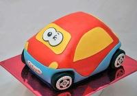 Торт Детская машинка