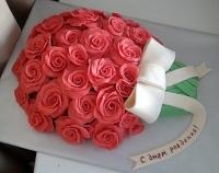 Торт Цветы для любимой