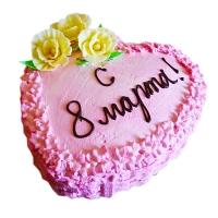 Торт Для дорогих женщин Вес торта: 3 кгЗаказывать торт необходимо за 3- 4 дня до момента доставки!Доставка торта возможна только по Киеву и области.Выберите начинку для торта:ФруктовыйНежный ванильный бисквит, пропитанный сахарным сиропом. Крем из натуральных, взбитых сливок с кусочками фруктов (персик, киви, ананас, груша, вишня, ягоды по сезону).Шоколадно-вишневыйШоколадный бисквит, пропитанный вишневым сиропом (по желанию с коньяком), взбитые сливки с вишней и кусочками шоколада.СметанникШоколадный и ванильный бисквит, сметанный крем (по желанию с добавлением орехов и кусочками шоколада).ЛакомкаТрадиционный белый бисквит, пропитанные карамельным сиропом, нежный крем из взбитых сливок с добавлением сгущенки-ириски с вишней.Птичье молокоНежный бисквит(ванильный или шоколадный, на выбор), пропитанный ванильным сиропом. Крем — суфле птичье молоко с кусочками белого и черного шоколада.       Золотой ключикОреховый бисквит, пропитанный кофейным сиропом, крем на основе вареной сгущенки с жаренными грецкими орехами.ТрюфельныйШоколадный бисквит с кусочками шоколада, ромовая пропитка, шоколадно трюфельный крем с кусочками шоколада.МедовикТонкие медовые коржи, сметанный крем, чернослив, курага и грецкий орех. (Можно без сухофруктов или на выбор).