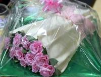 Торт Букет розовых роз