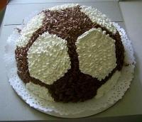 Торт Мячик Вес торта: 3 кг Заказывать торт необходимо за 3- 4 дня до момента доставки! Доставка торта возможна только по Киеву и области. Выберите начинку для торта: ФруктовыйНежный ванильный бисквит, пропитанный сахарным сиропом. Крем из натуральных, взбитых сливок с кусочками фруктов (персик, киви, ананас, груша, вишня, ягоды по сезону). Шоколадно-вишневыйШоколадный бисквит, пропитанный вишневым сиропом (по желанию с коньяком), взбитые сливки с вишней и кусочками шоколада. СметанникШоколадный и ванильный бисквит, сметанный крем (по желанию с добавлением орехов и кусочками шоколада). ЛакомкаТрадиционный белый бисквит, пропитанные карамельным сиропом, нежный крем из взбитых сливок с добавлением сгущенки-ириски с вишней. Птичье молокоНежный бисквит(ванильный или шоколадный, на выбор), пропитанный ванильным сиропом. Крем— суфле птичье молоко скусочками белого ичерного шоколада. Золотой ключик Ореховый бисквит, пропитанный кофейным сиропом, крем на основе вареной сгущенки с жаренными грецкими орехами. ТрюфельныйШоколадный бисквит с кусочками шоколада, ромовая пропитка, шоколадно трюфельный крем с кусочками шоколада. МедовикТонкие медовые коржи, сметанный крем, чернослив, курага игрецкий орех. (Можно без сухофруктов или на выбор).
