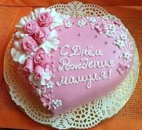 Торт Адэль Вес торта: 3 кг Заказывать торт необходимо за 3- 4 дня до момента доставки! Доставка торта возможна только по Киеву и области. Выберите начинку для торта: ФруктовыйНежный ванильный бисквит, пропитанный сахарным сиропом. Крем из натуральных, взбитых сливок с кусочками фруктов (персик, киви, ананас, груша, вишня, ягоды по сезону). Шоколадно-вишневыйШоколадный бисквит, пропитанный вишневым сиропом (по желанию с коньяком), взбитые сливки с вишней и кусочками шоколада. СметанникШоколадный и ванильный бисквит, сметанный крем (по желанию с добавлением орехов и кусочками шоколада). ЛакомкаТрадиционный белый бисквит, пропитанные карамельным сиропом, нежный крем из взбитых сливок с добавлением сгущенки-ириски с вишней. Птичье молокоНежный бисквит(ванильный или шоколадный, на выбор), пропитанный ванильным сиропом. Крем— суфле птичье молоко скусочками белого ичерного шоколада. Золотой ключик Ореховый бисквит, пропитанный кофейным сиропом, крем на основе вареной сгущенки с жаренными грецкими орехами. ТрюфельныйШоколадный бисквит с кусочками шоколада, ромовая пропитка, шоколадно трюфельный крем с кусочками шоколада. МедовикТонкие медовые коржи, сметанный крем, чернослив, курага и грецкий орех. (Можно без сухофруктов или на выбор).