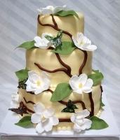 Торт Цветущая любовь