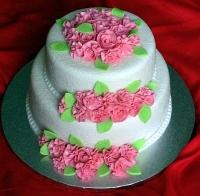Торт Сладкие розочки