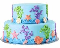 Торт Морская свадьба