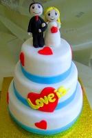 Торт Свадебный № 20