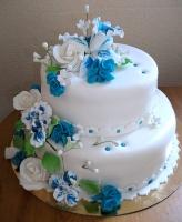 Торт Свадебный № 34