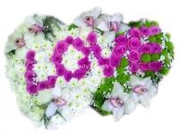 Магия цветов Состав: роза розовая- 31 шт, орхидея- 7 шт, хризантема- 30 шт, гипсофила, форма-оазис.