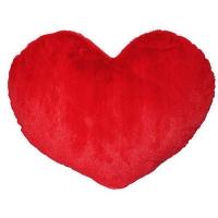 Подушка Сердце красное Размер: 31 х 40 см Сердце красное мягкое Прекрасный подарок любимому человеку