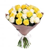 Букет солнечных роз