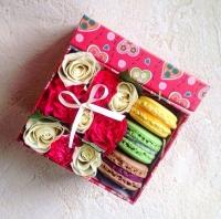 Коробочка с цветами 1