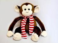 Обезьянка Чарли Веселая обезьянка развеселит даже в самый хмурый день. Размер: 40 см.